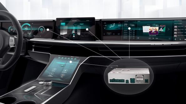 Bosch goes on the fast lane in the car computer business