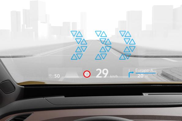 Volkswagen introduces AR head-up display in the compact class