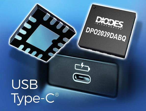 Chip protects USB interfaces against overvoltage
