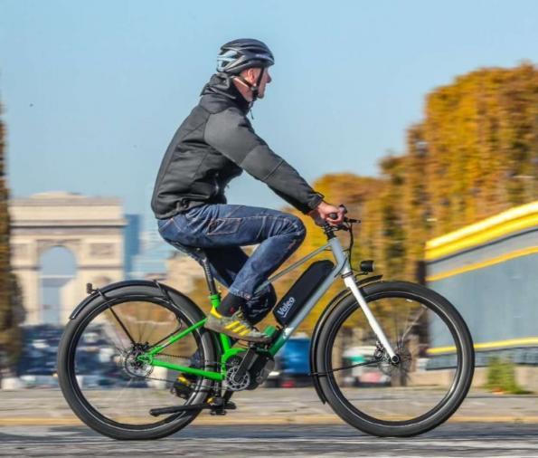 E-bike drivetrain combines motor with adaptive transmission