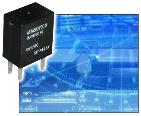 Versatile relay series for automotive use