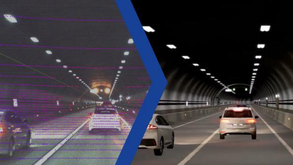 AI generates driving scenarios from measurement data