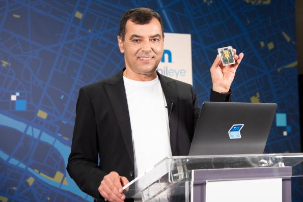 Mobileye gives a glimpse of its sensor technology