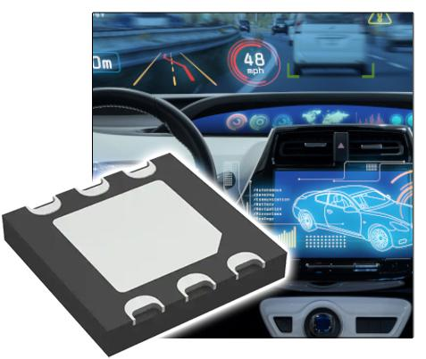4-quadrant silicon PIN photodiode for automotive use, in distribution