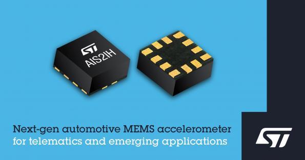 ST rolls next gen automotive MEMS accelerometers