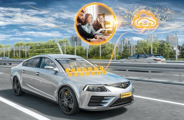 Continental, Amazon Web Services create automotive software platform