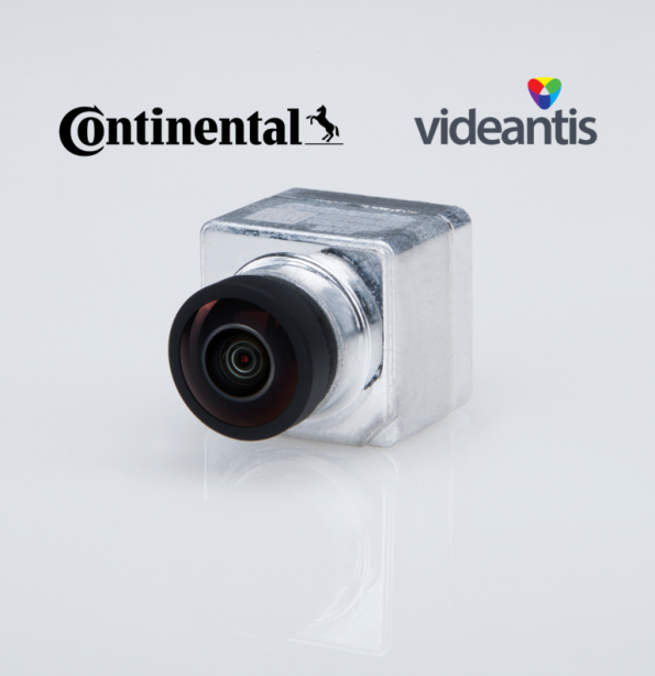 Continental, videantis join forces for AI-based cameras