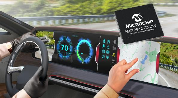 Touchscreen controller reduces integration complexity, cost