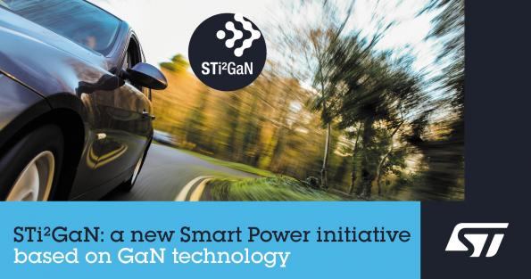 ST combines GaN technology, intelligence for e-mobility