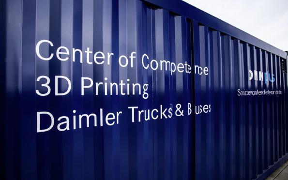 Daimler decentralises spare parts production - via 3D printer