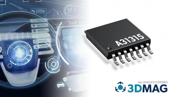 Magnetic position sensor meets ASIL-D