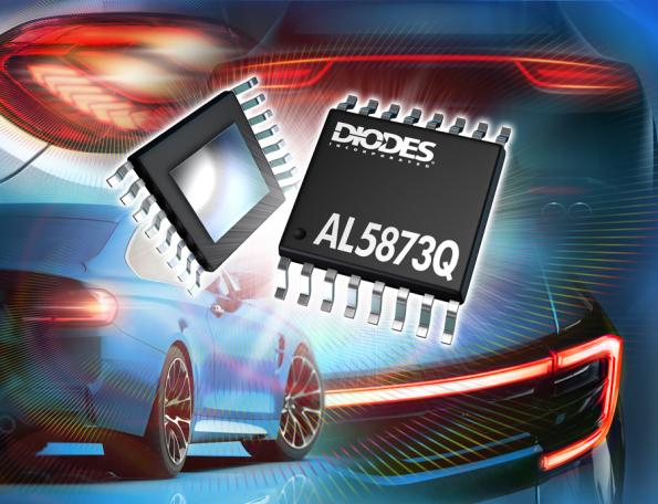 Three-channel LED driver simplifies rear lighting design