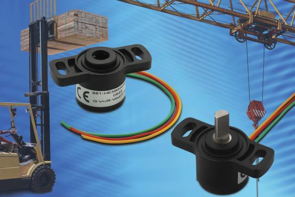 Heavy-equipment precision potentiometer, in distribution