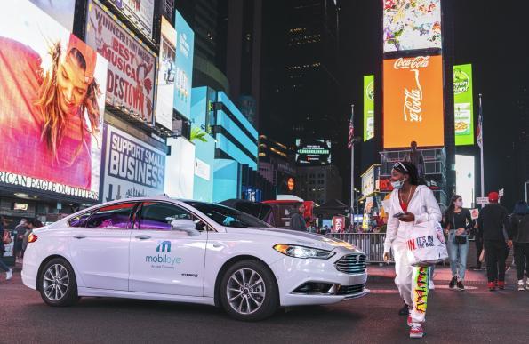 Mobileye tests self-driving vehicles in New York City