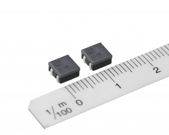High-current, low inductance chokes target automotive supply circuits
