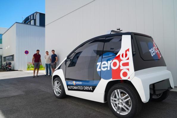 Virtual Vehicle presents autonomous citycar