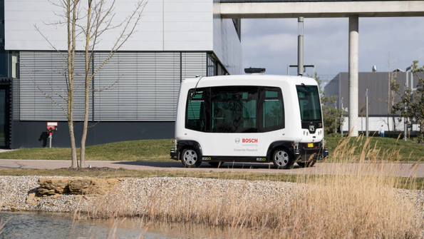 Bosch driverless e-Shuttle is fault tolerant