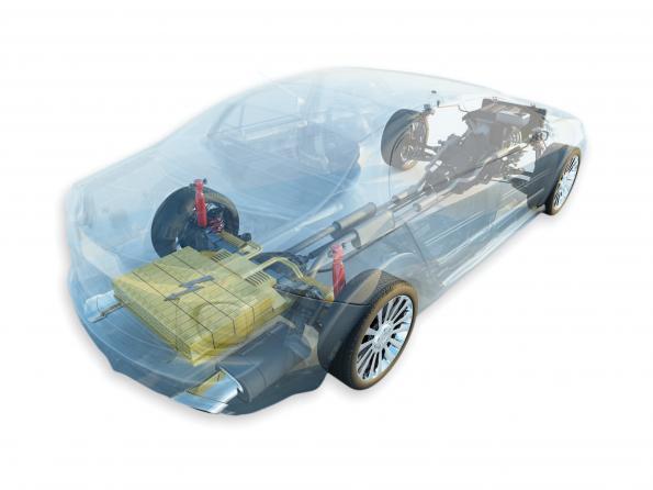Thermal management increases e-car range