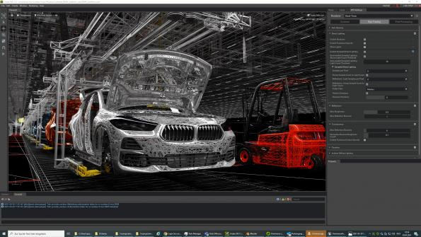 BMW teams with Nvidia to virtualize factory planning