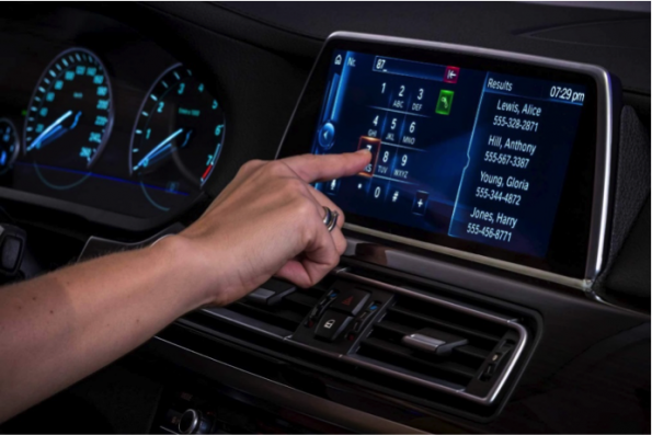 Force-sensing: A third dimension in automotive touch controls