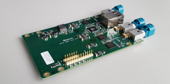 Mezzanine card eases APIX developments with Intel FPGAs