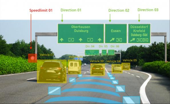 AI helps vehicles to find their way through roadworks