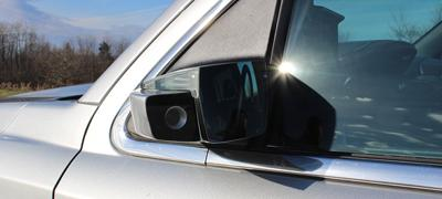 Camera-based solution prevents blind spots