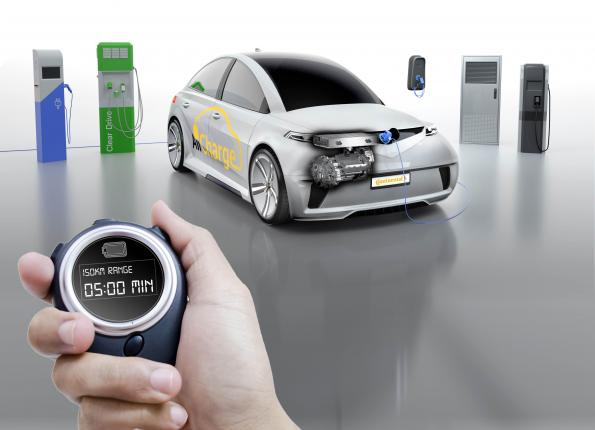 Continental turns EV powertrain into universal charging adapter