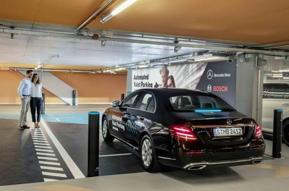 Daimler, Bosch demo driverless valet parking
