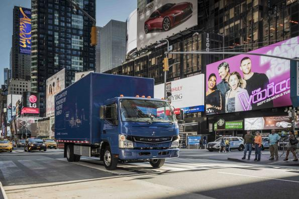 Battery-electric truck enters series production