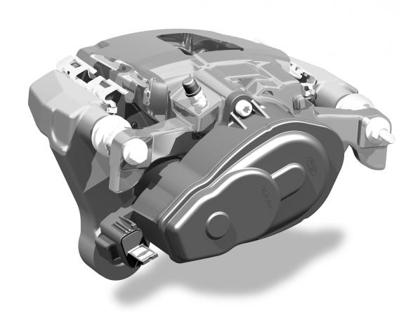 ZF launches first electric parking brake for commercial vehicles in Ford F-150