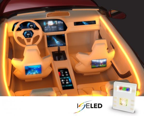 ISELED – The LED goes Digital