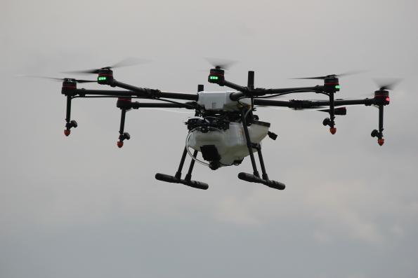 Applying V2X technology to drones