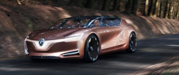 Renault discovers robot cars, electric drive