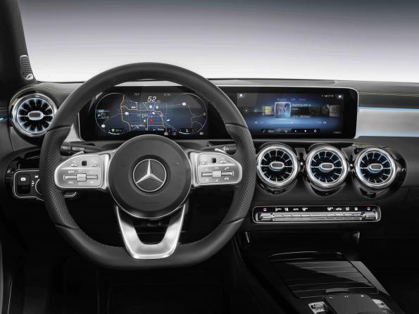 Mercedes HMI makes massive use of Nvidia architecture