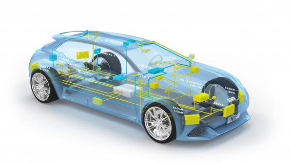 NXP en force dans le Gigabit Ethernet automobile