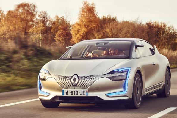 Renault details all-electric, autonomous vehicle