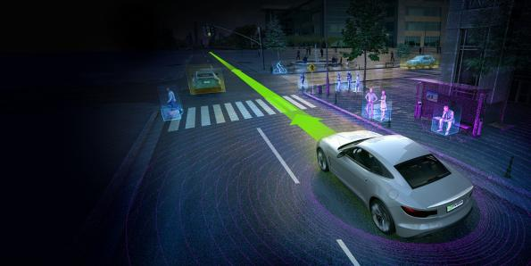 Continental develops auto-driving computing platform with Nvidia