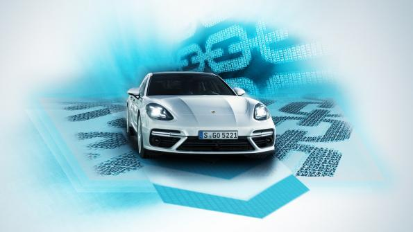 Porsche is the first to implement blockchain in the car