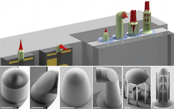 3D printing process connects optical microchips