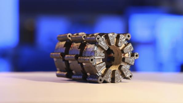 Complete electric motors produced in 3D printing