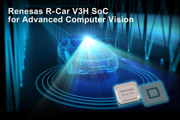 Renesas R-Car SoC has been optimized for automotive front cameras