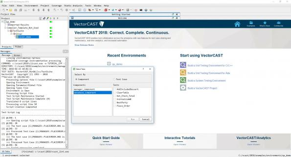 New VectorCast release facilitates testing and debugging