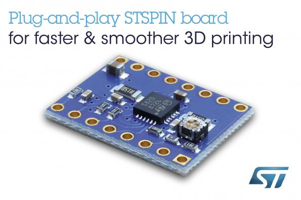 Motor driver board maximizes performance of open source 3D printers