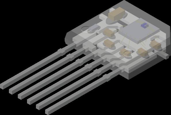 TMR angle sensor targets PCB-less applications