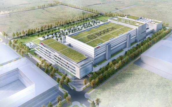 Bosch lays foundation for Dresden chip factory