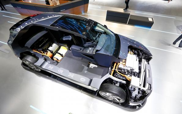 Fuel cell development: Who's in, who's out