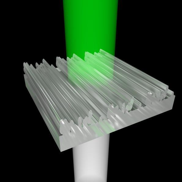 3D printer creates color through nanostructures