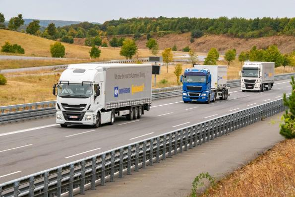 Continental, Knorr develop autonomous driving platform for trucks