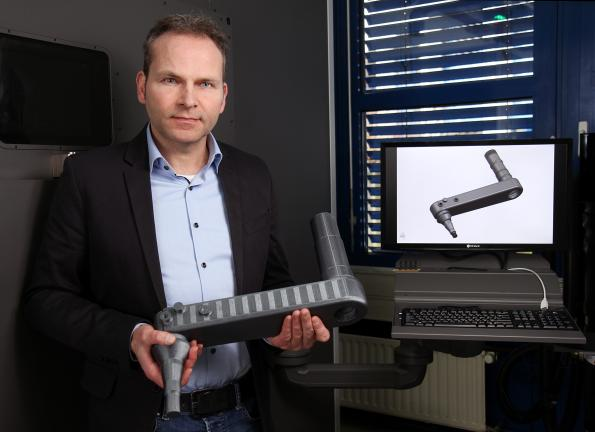 3D metal printer enables more efficient and lighter components